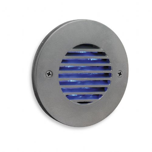 Firstlight 5649SS Satin Steel with Blue LED's LED Wall & Step Light